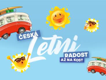 Česká letní radost až na kost