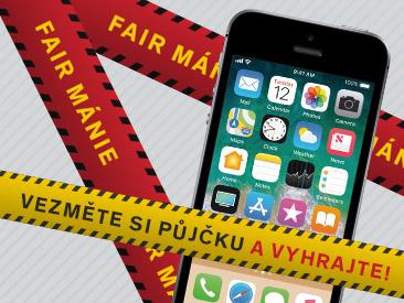 Fair mánie 2019 - Každý 30. zákazník vyhrává nový iPhone!