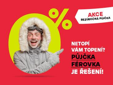 Půjčka FÉROVKA je váš parťák do začátku roku!