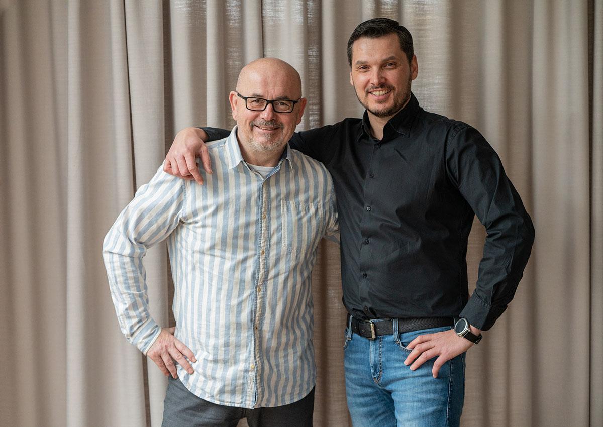 Ing. Jan Vondruška (vpravo), Stanislav Holý (vlevo)